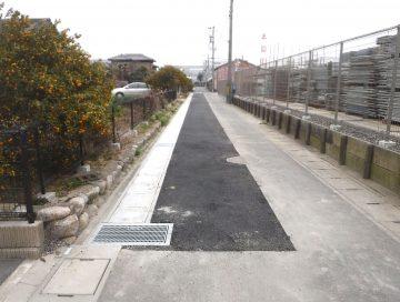大池3号線側溝整備工事